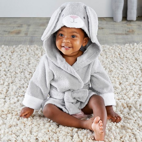 Best Bunnies Hooded Spa Robe Baby Gift