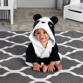 'Pamper Me Panda' Hooded Spa Robe Baby Gift