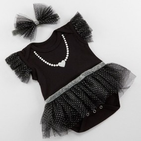 My First Party Dress with Headband Babygirl Gift Set
